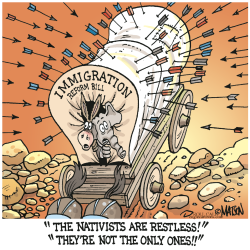 Immigration Reform Bill Attacked From All Sides- by RJ Matson