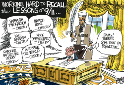 Clueless George by Pat Bagley