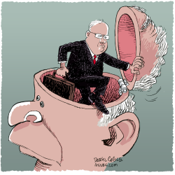 Rove Resigns  by Daryl Cagle