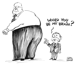 Brainless George - B&W by Christo Komarnitski