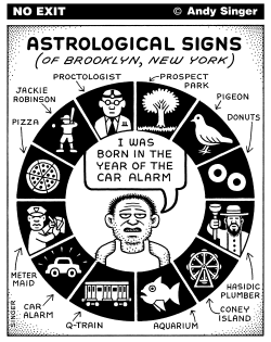 Astrological Signs of Brooklyn by Andy Singer