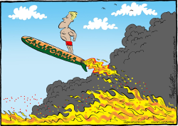 California Wildfires  by Bob Englehart