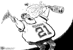LOCAL DC - Redskins Clinch Wild Card by Nate Beeler