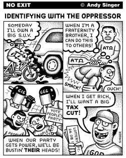 Identifying with the Oppressor by Andy Singer