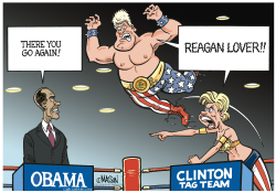 Clinton Tag Team- by RJ Matson