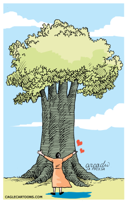 Love for Nature --  by Arcadio Esquivel