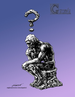 Gallery: The Thinker by Rodin by Antonio Neri Licón