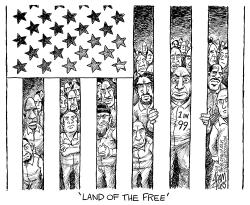 US Prison Population by Adam Zyglis