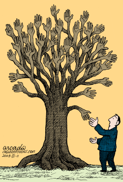 Friendship Tree --  by Arcadio Esquivel
