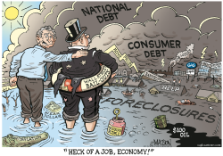Heck Of Job, Economy- by RJ Matson