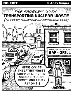 Nuclear Waste Transport Problems by Andy Singer