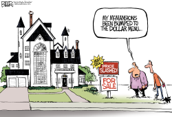 Home Prices Pinch  by Nate Beeler