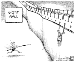 The Great Wall by Adam Zyglis