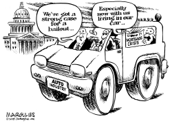 Auto Industry bailout by Jimmy Margulies
