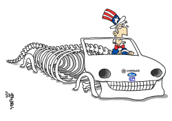 US auto industry in trouble by Stephane Peray