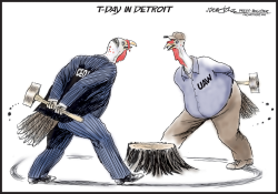 Detroit Turkeys by J.D. Crowe