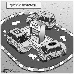 The Road To Recovery by RJ Matson