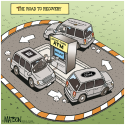 The Road To Recovery- by RJ Matson