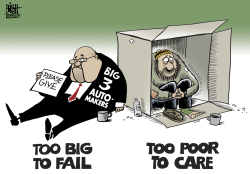 Too big to fail,  by Randy Bish