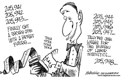 Job Losses by Mike Keefe