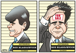 Governor Blagojevich For Sale- by RJ Matson