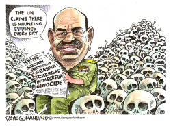 Darfur Genocide Charges by Dave Granlund