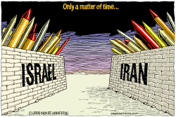 Iran and Israel Only a Matter of Time  by Wolverton