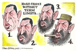 Chavez without term limits by Dave Granlund