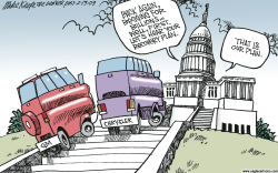 More Auto Bailout  by Mike Keefe
