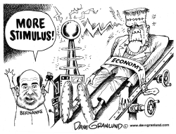 Bernanke and Economic Stimulus by Dave Granlund