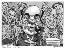 Ben Bernanke by Taylor Jones