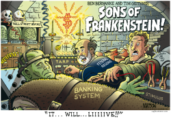 Sons Of Frankenstein- by RJ Matson