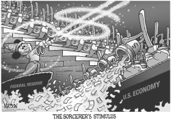 The Sorcerer's Stimulus by RJ Matson