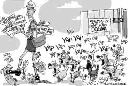 Watch Dogmas by Pat Bagley