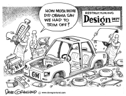 GM Restructuring Effort by Dave Granlund