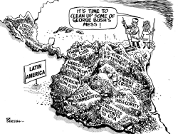 Cleaning Latin America by Paresh Nath