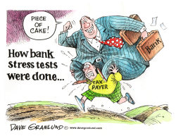 Bank Stress Tests  by Dave Granlund