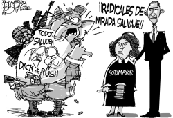 Sotomayor by Pat Bagley