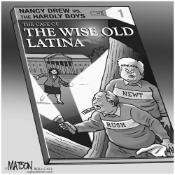The Case Of The Wise Old Latina by RJ Matson