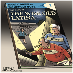 The Case Of The Wise Old Latina- by RJ Matson