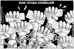 Iran -- the Power of Citizen Journalism by Wolverton