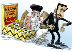 Whacking Hope in Iran  by Daryl Cagle
