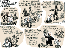 Affirmative Distraction  by Pat Bagley