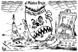 Medico Brujo del Cabildeo Medico by Mike Lane