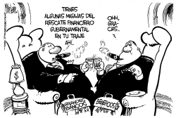 Grandes Beneficios de los Bancos by Mike Lane