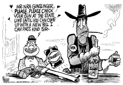 NRA Gunslinger by Mike Lane