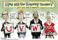 Economic Recovery- by Joe Heller