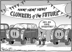 Cash For Clunkers by Bob Englehart