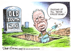 Carter racism claim by Dave Granlund