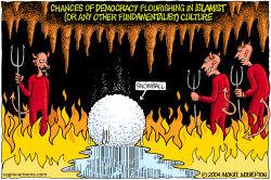 Chances of Islamist Democracy  by Wolverton